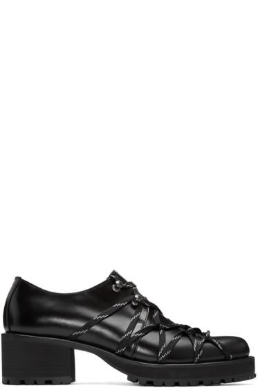 Yohji Yamamoto - Black Lace-Up Heels