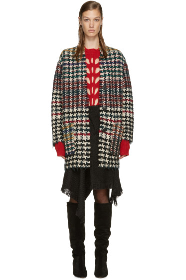 Isabel Marant - Multicolor Wool Diana Coat