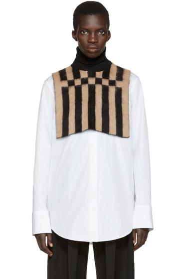 Loewe - Black & Tan Turtleneck Collar