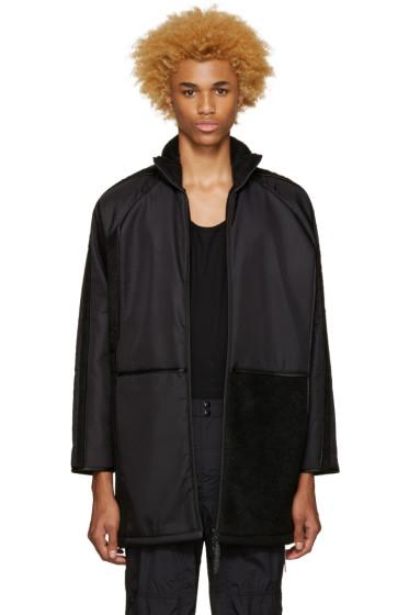 Cottweiler - Black Oversized Coat