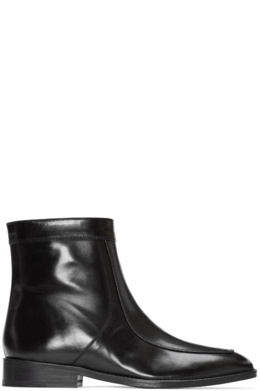 CMMN SWDN - Black Leather Bruno Boots