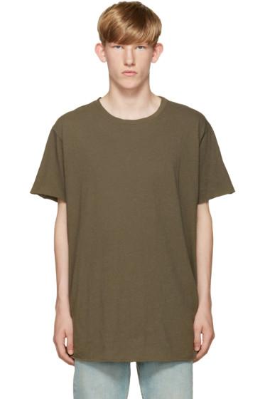 John Elliott - Green Anti-Expo T-Shirt