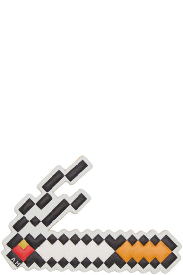 Anya Hindmarch - White Leather Cigarette Sticker