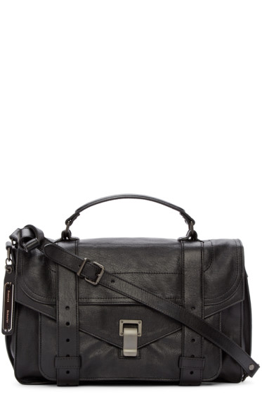 Proenza Schouler - Black PS1 Medium Satchel