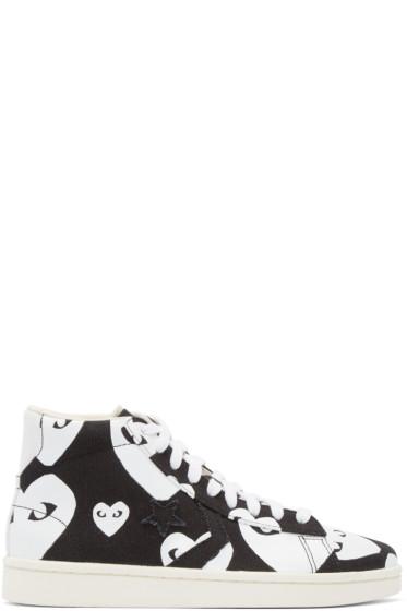 Comme des Garçons Play - Black Converse Edition High-Top Sneakers