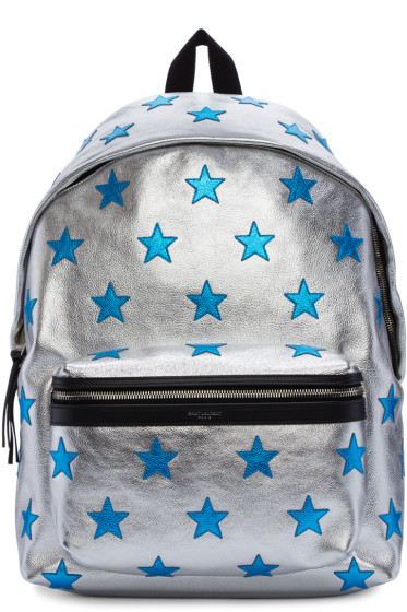 Saint Laurent - Silver Stars Backpack