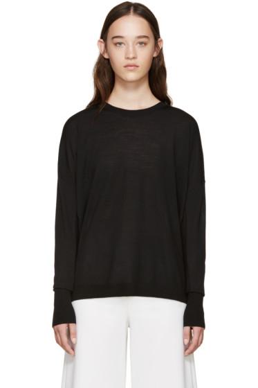 Acne Studios - Black Merino Wool Carel Sweater
