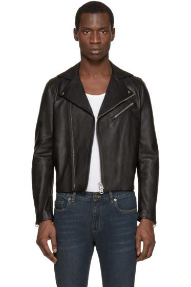 Acne Studios - Black Leather Gibson Jacket