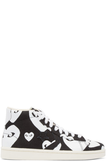 Comme des Garçons Play - Black Converse Edition High-Top Sneakers