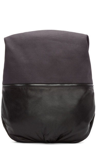 Côte & Ciel - Grey Canvas Nile Alias Backpack