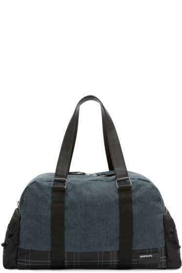Diesel - Navy De-Yanki Duffle Bag