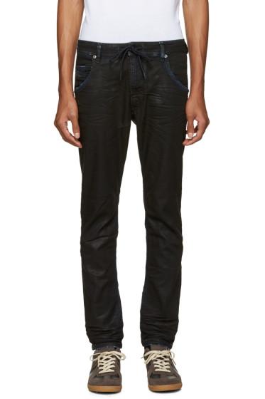 Diesel - Blue Krooley CB-NE Coated Jeans