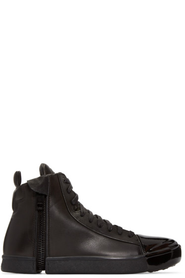 Diesel - Black S-Nentish Special High-Top Sneakers