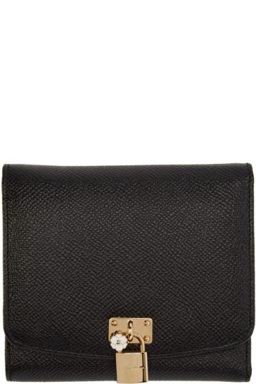Dolce & Gabbana - Black Leather Wallet