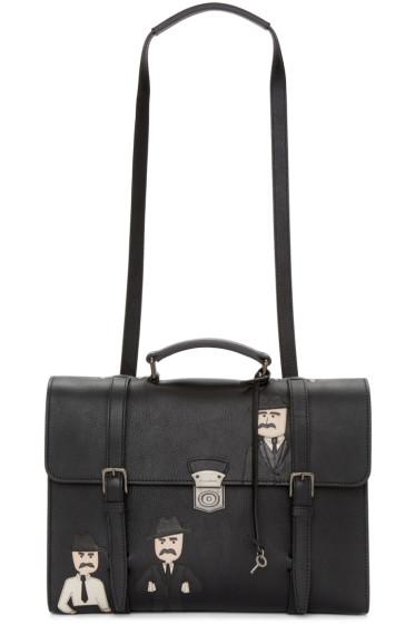 Dolce & Gabbana - Black Siracusa School Bag