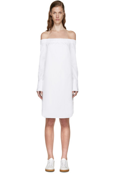 Rag & Bone - White Off-the-Shoulder Kacy Dress