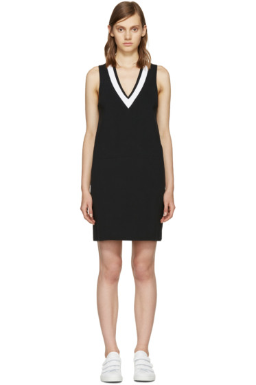 Rag & Bone - Black & White Ainsley Knit Dress