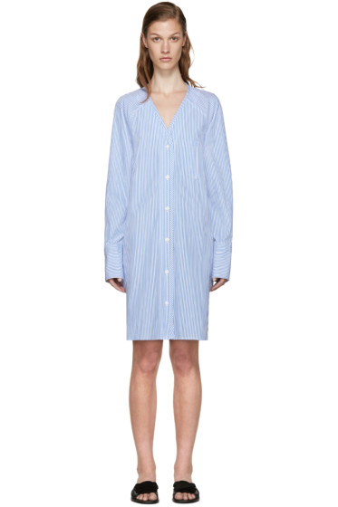 Rag & Bone - Blue & White Striped Shults Dress