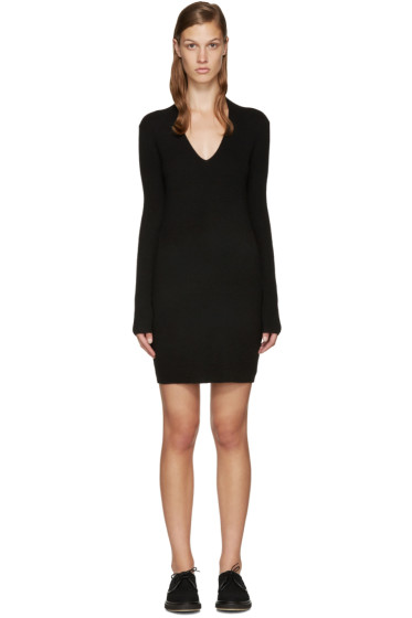 Rag & Bone - Black Cashmere Natasha Dress