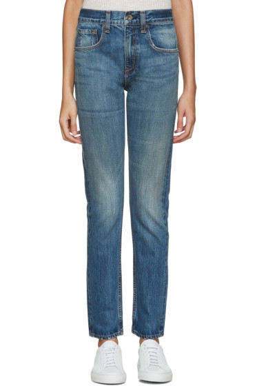 Rag & Bone - Blue Marylin Jeans