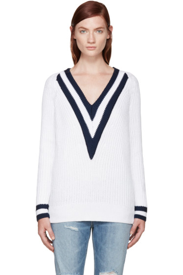 Rag & Bone - SSENSE Exclusive White Talia Sweater
