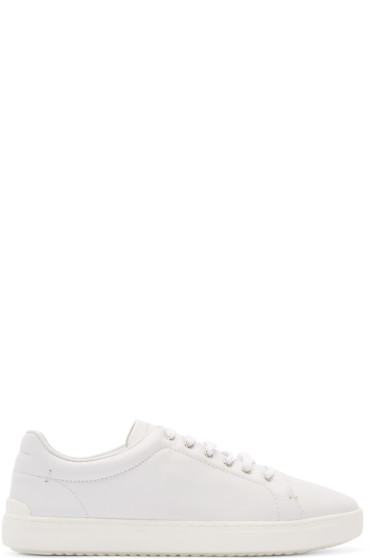 Rag & Bone - White Leather Kent Sneakers