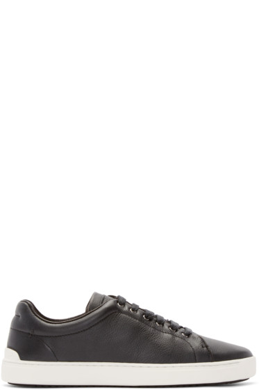 Rag & Bone - Black Leather Kent Sneakers