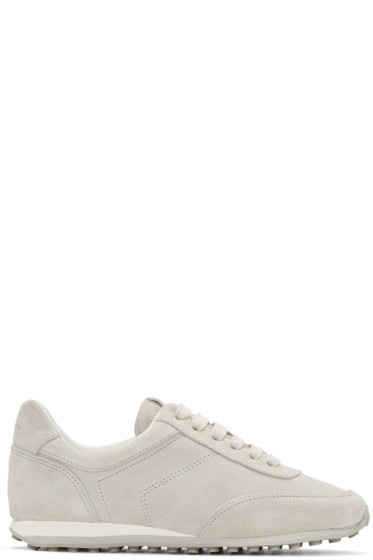 Rag & Bone - Grey Suede Dylan Sneakers