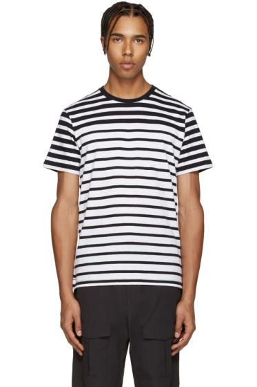 Rag & Bone - Black & White Striped T-Shirt