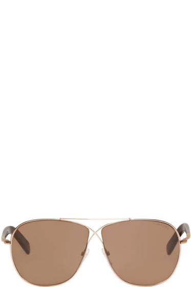 Tom Ford - Rose Gold April Sunglasses