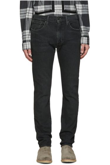 Levi's - Black Slim Straight 505C Jeans