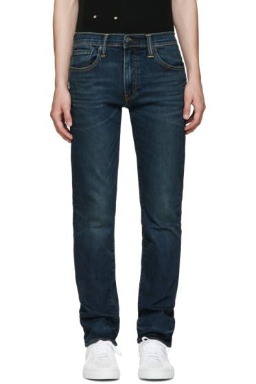 Levi's - Indigo THERMOLITE Slim 511 Jeans