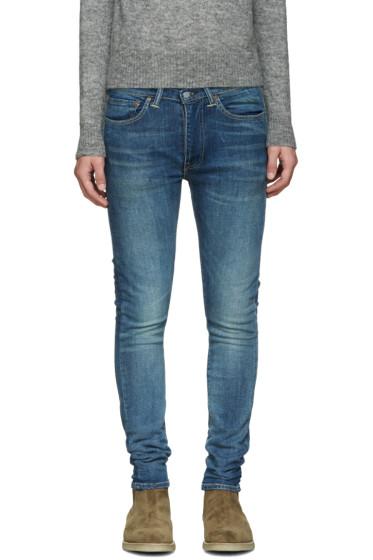 Levi's - Blue Extreme Skinny 519 Jeans