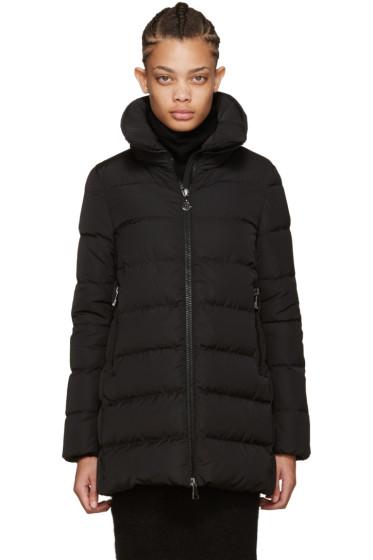Moncler - Black Down Petrea Coat