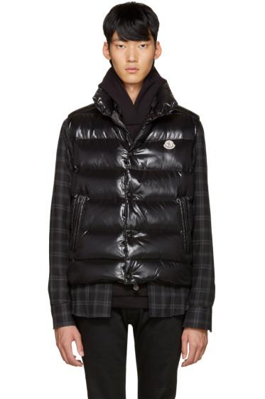 Moncler - Black Down Tib Vest