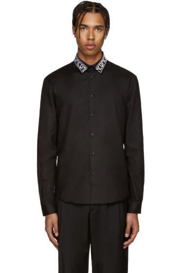 McQ Alexander Mcqueen - Black Googe 04 Logo Shirt