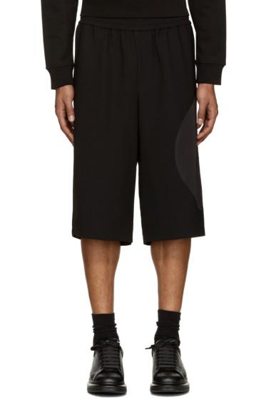 McQ Alexander Mcqueen - Black Talto Shorts