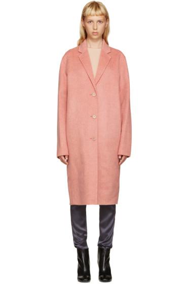 Acne Studios - Pink Avalon Doublé Coat