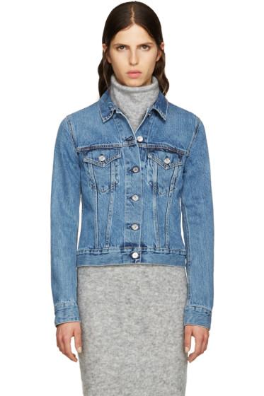 Acne Studios - Blue Denim Top Jacket