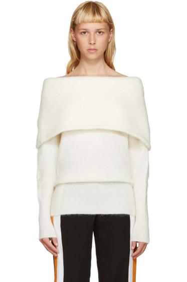 Acne Studios - White Mohair Daze Sweater