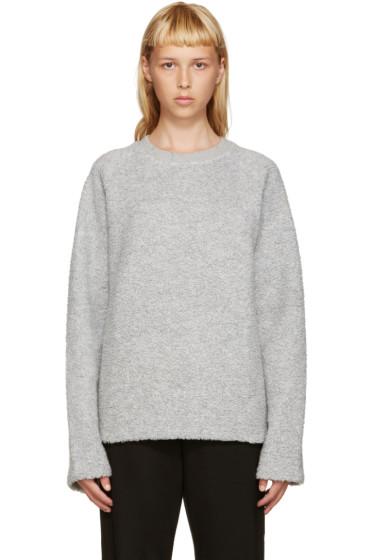 Acne Studios - Grey Wool Cassie Pullover