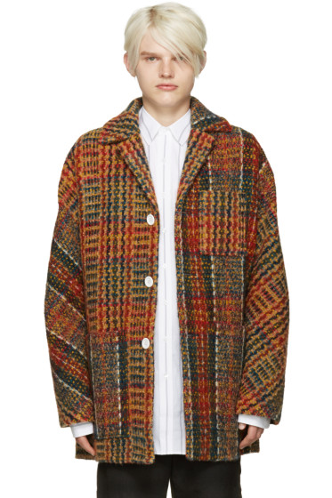 Acne Studios - Multicolor Tweed Min Coat