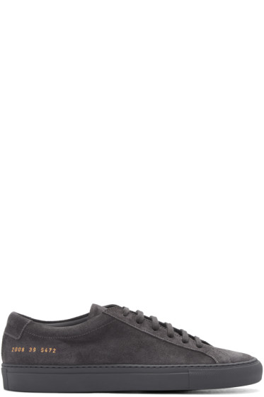 Common Projects - Grey Original Achilles Sneakers