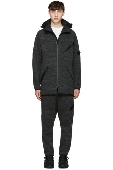 Y-3 - Grey Knit Future SP Parka