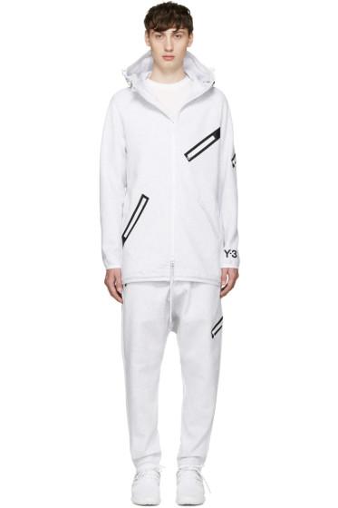 Y-3 - White Knit Future SP Parka