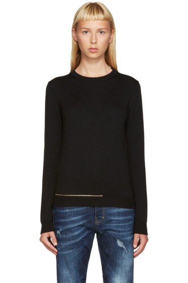 Dsquared2 - Black Wool F7 Sweater