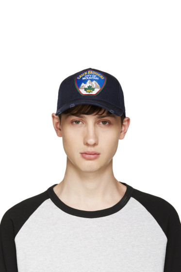 Dsquared2 - Navy City Of Mountain Cap