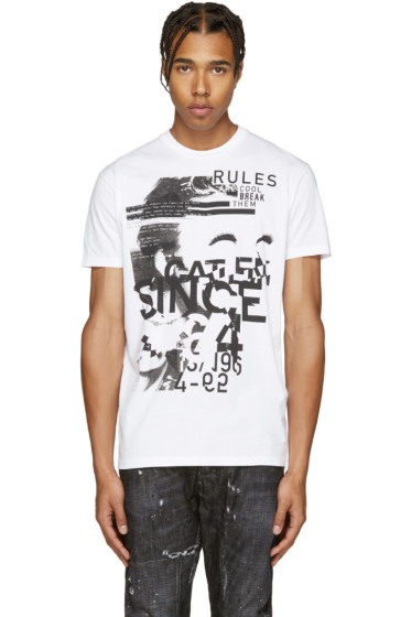 Dsquared2 - White Rules T-Shirt