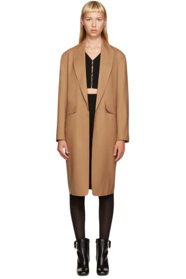 Alexander Wang - Brown Wool Coat