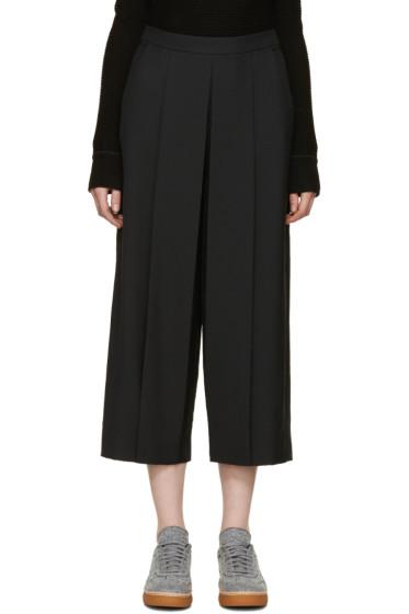 Alexander Wang - Black Pleated Trousers